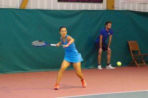 Harmony Tan (N°15) la Vainqueur du 3ème Open National Féminin de L'Aigle
